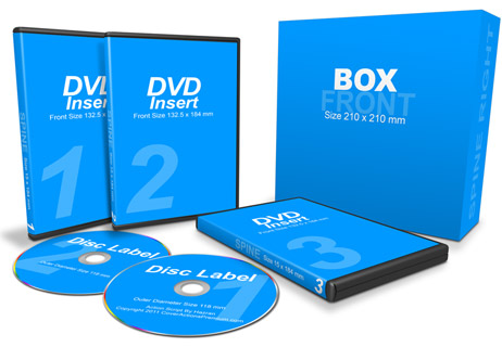 3 DVDs with Box action script