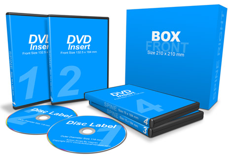 4 DVDs with Box action script