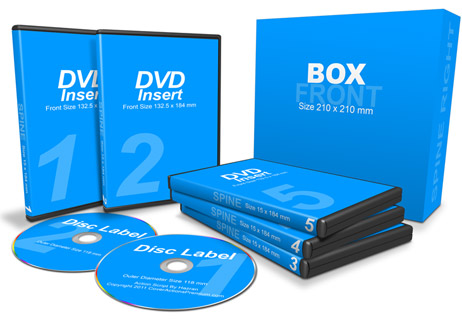 5 DVDs with Box action script