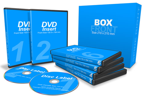 6 DVDs with Box action script