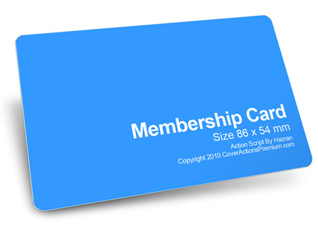 template for membership cards Template – Membership Cards Template