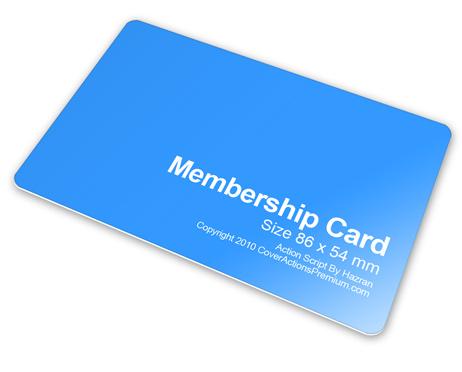 Membership Card Mockup Image Gallery - Hcpr