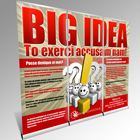 3 Roll Up Banner Action Script