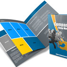 Legal Size Bi-Fold Brochure Mock Up Actions