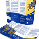 Accordion Fold Brochure Mock Up Cover Actions