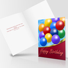 Vertical A2 Bi Fold Card Mock Up Set