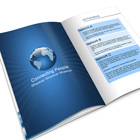 8-Page A4 Brochure Mock Up Actions