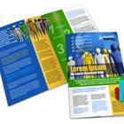 A4 Bi Fold Brochure action script
