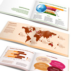 12 Page A5 Landscape Brochure Mock Up Actions