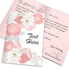 A5 greeting card action script