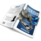 A5 Softcover Book Mock Up Cover Actions