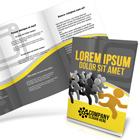 A5 Tri-Fold Brochure Mockup