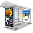 Bus Stand / Bus Shelter Banner Poster action script