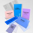 Funeral Program Combo Pack Mockup