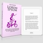 4.25 x 6.75in Paperback with Kobo Glo eReader Mock up action script