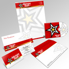 A4 Letterhead & Stationery Pack Action Script Set 1