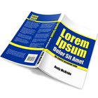 Open Softcover Book Mock Up