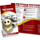 A4 Trifold Brochure action script