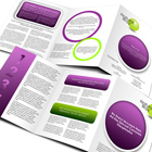 Z Fold Brochure Cover Actions