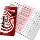 8.5x11 Z-Fold Brochure Mockup