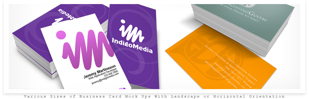 Business Card Mock Up Actions