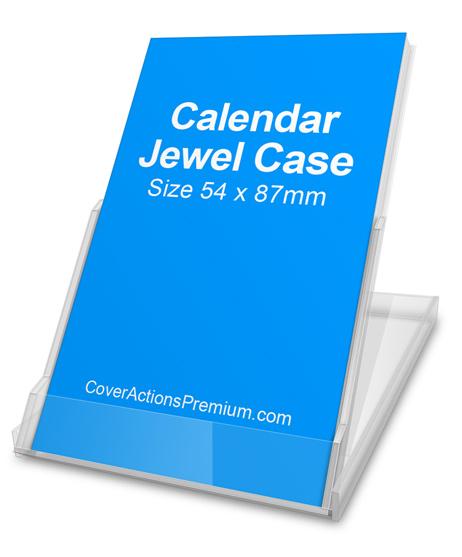 Calendar Jewel Case Mockup