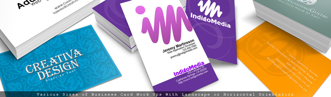 Cover Actions- Business Card Mockups