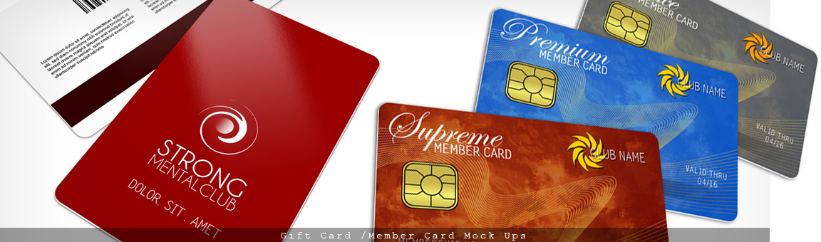 Member Cards, All Pass Access Mockup Cover Actions