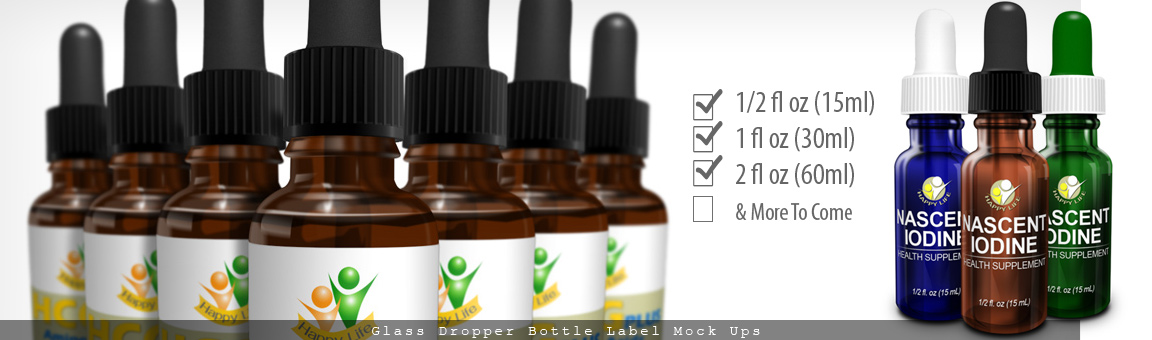Dropper Bottle Mockup Cover Actions