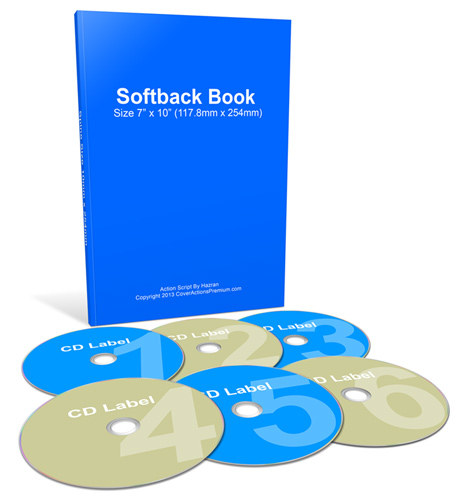 Home Study Courses Softcover Book 6CDs Mockup