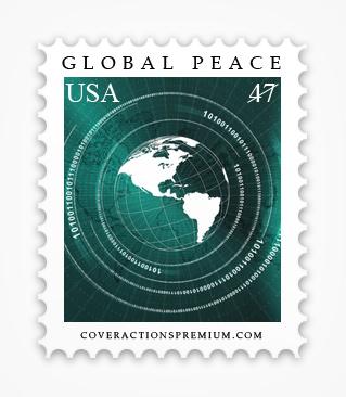 Postage Stamp Mockup