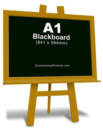 blackboard mockup