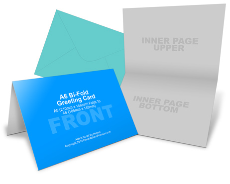 Greeting card cover actions premium mockup psd template a6 greeting card mockup accmission Choice Image