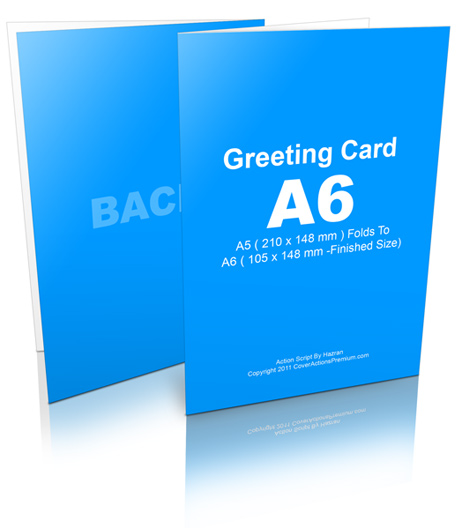 A6 size greeting card action script cover actions premium mockup a6 greetingcard mockup m4hsunfo