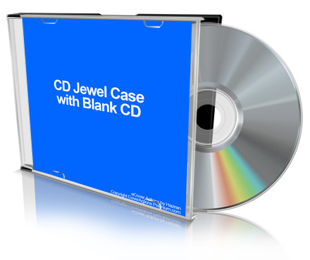 free cd jewel case mockup slim version cover actions premium