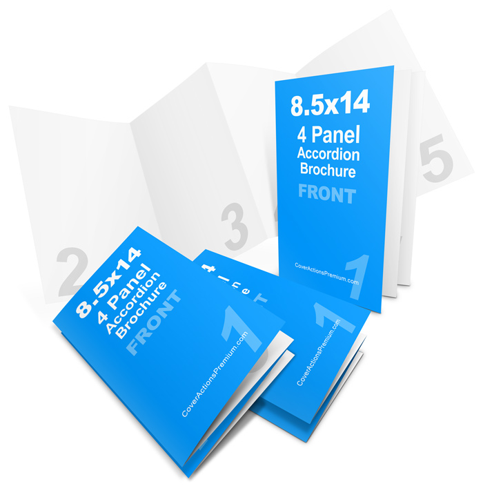 4 panel 8 5 14 accordion fold brochure mockup set pt 1 cover