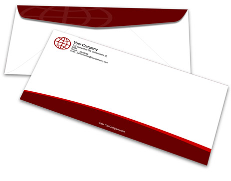 No Envelope Mockup Cover Actions Premium Mockup PSD Template - No 10 envelope template